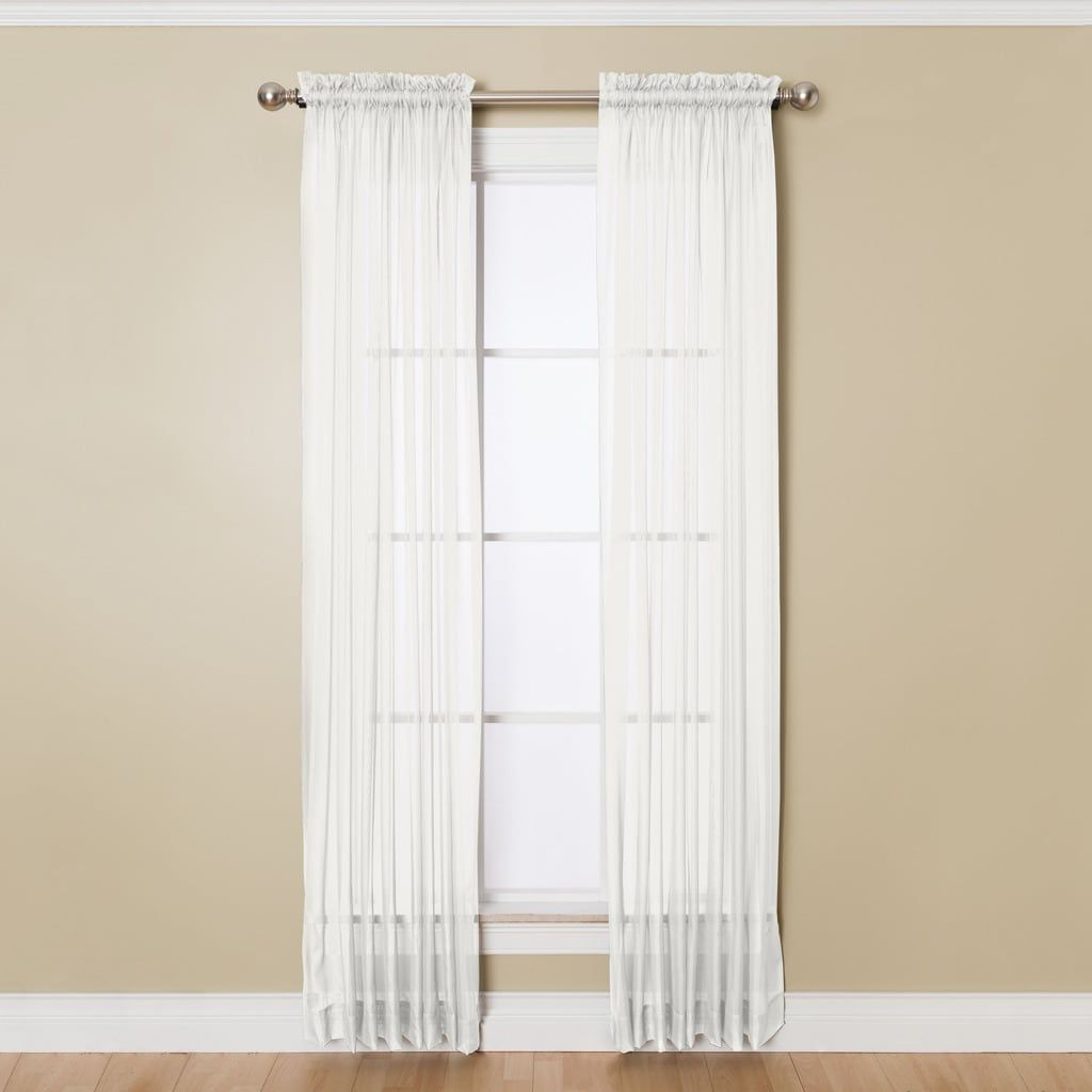 Miller Curtains Angelica 84-inch Sheer Curtain Panel With