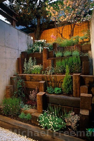Japanese Step-garden, Great Idea For A Small Succulent