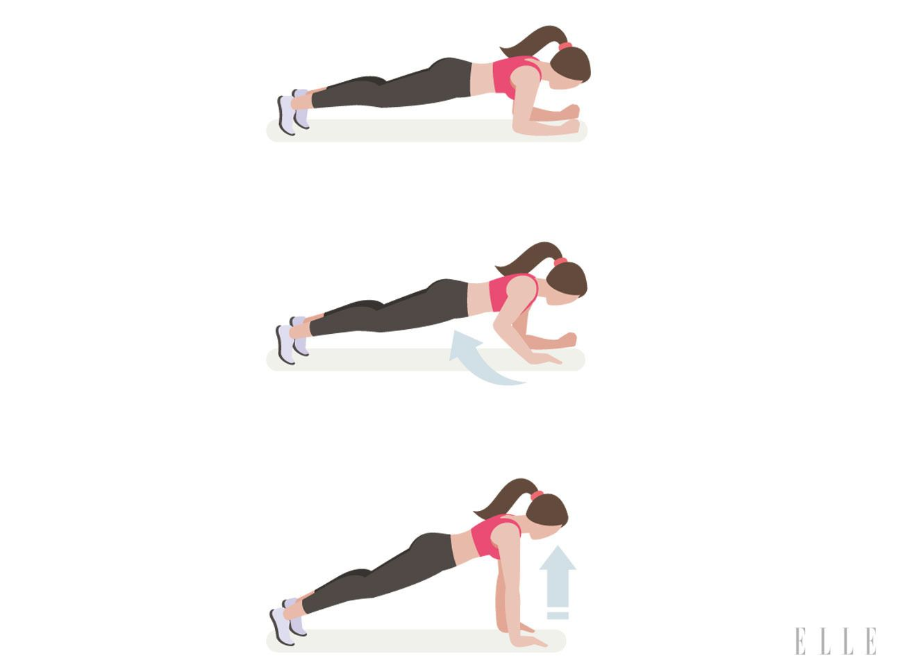 Fünf-Minuten-Workout: die 3 besten Übungen für schlanke Arme
