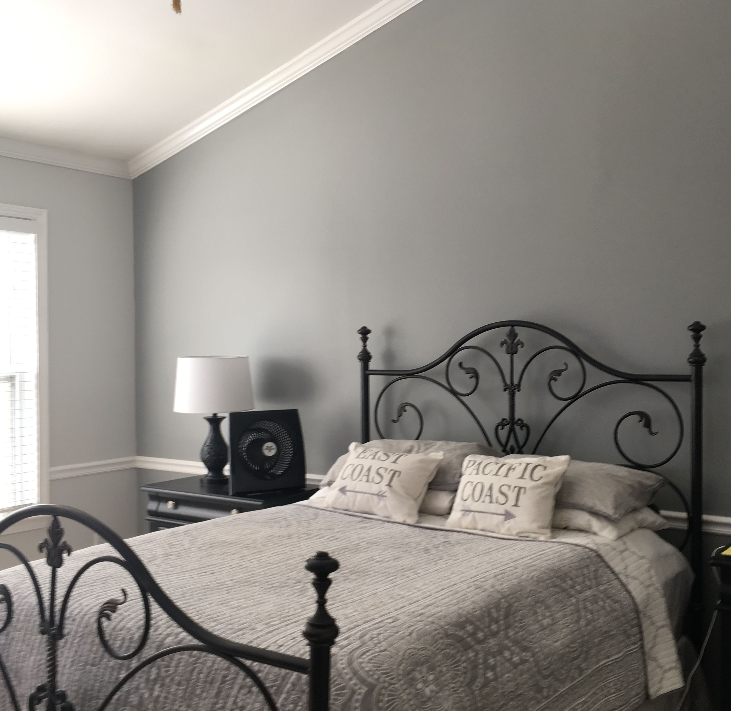 Behr Chain Reaction In Egg Shell As Accent Wall Behr Paint Colors Bedroom Paint Colors For Living Room Bedroom Paint Colors