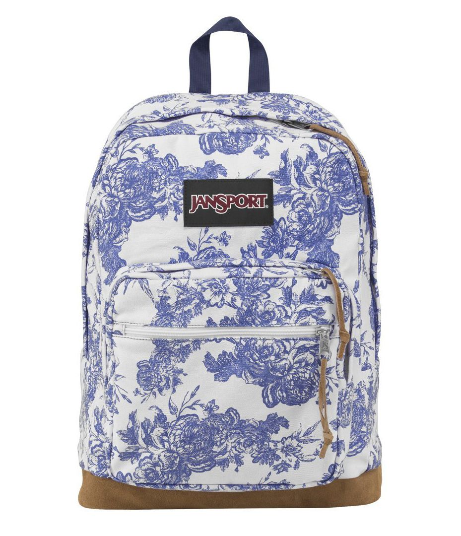 Jansport Right Pack Backpack Blue Floral from Tilly's | Bags