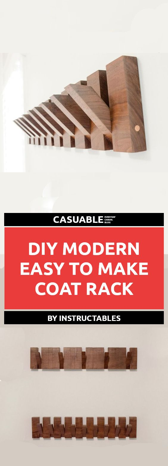 Hallway storage stand   Easy To Make DIY Coat Rack Projects For Your Hallway  Tutorials