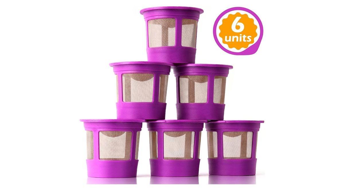 Geek daily deals february 22 2020 six reusable kcups