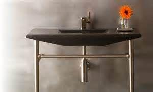 Small Bathroom Vanities And Sinks With Metal Legs Yahoo Image