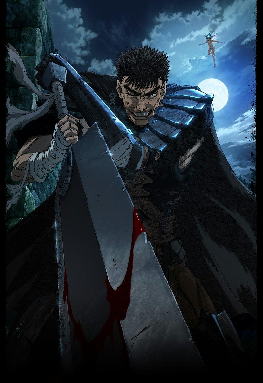 Berserk Guts blackswordsman Berserk, 2016 anime