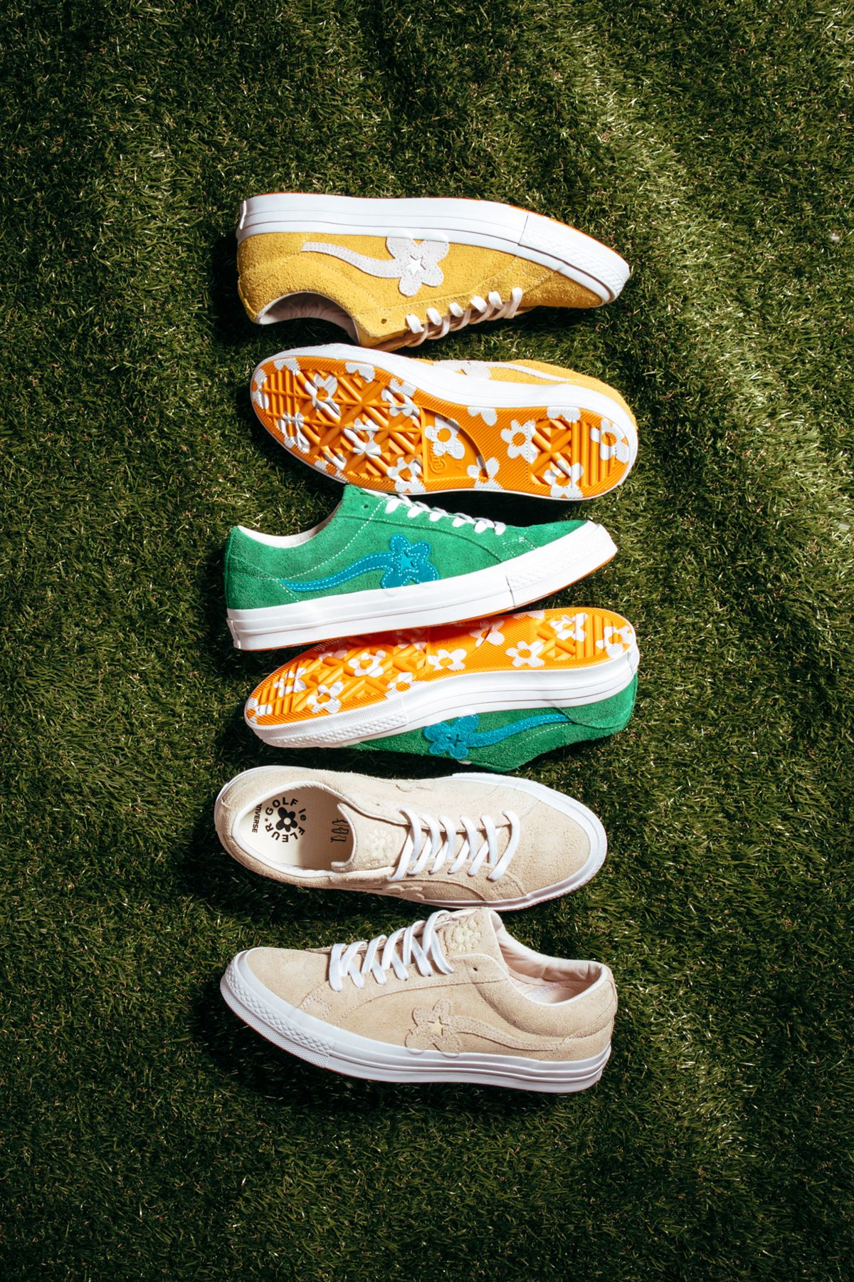 Converse X Tyler The Creator Golf Le Fleur In Yellow This Style