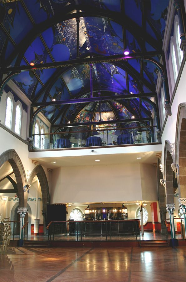 Beautiful Ceiling In Our Wedding Reception Venue Oran Mor Glasgow