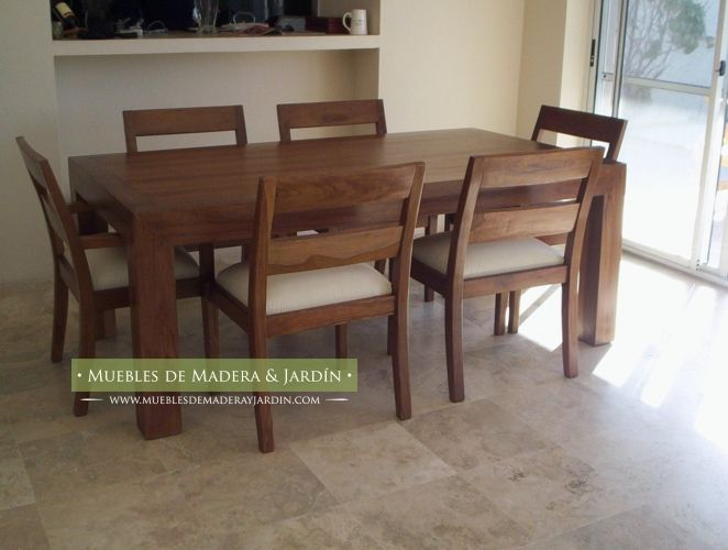 Mesa de Comedor de con Sillas de Incienso | Home | Pinterest ...