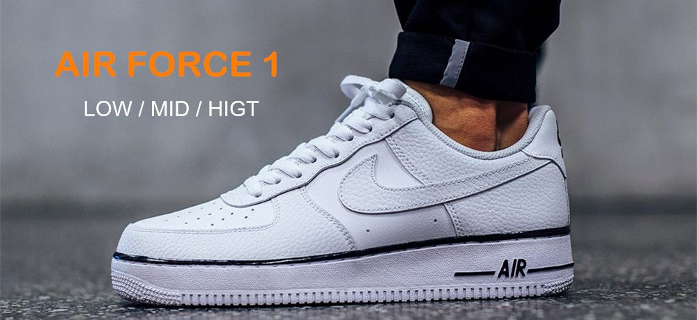 sale retailer aab03 382b2 Best nike air force 1 low white and black is the instant hit for the  footwear field. Look for cheap new black and white air force ones at our shoes  shop and ...