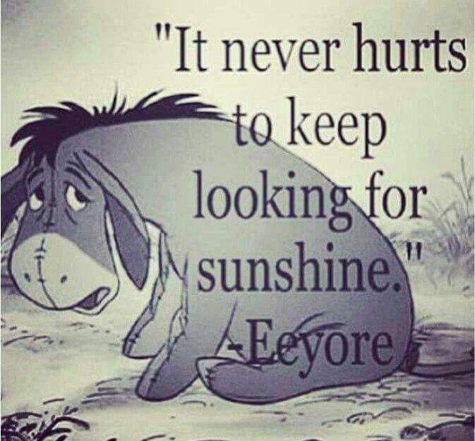 Eeyore's Quote …
