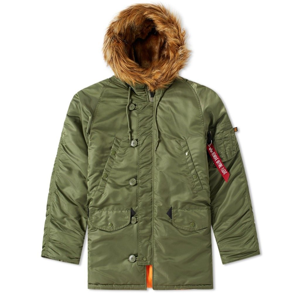 Alpha industries winterjacke polar jacket sv black