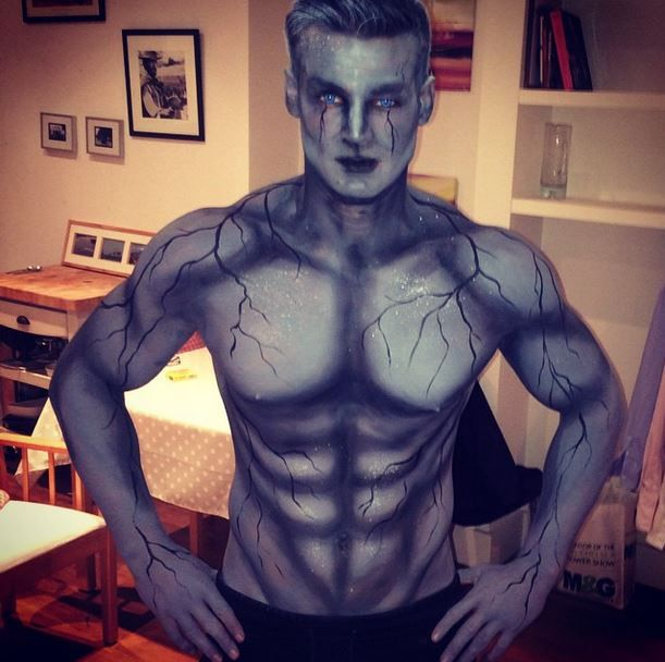 Pin By Edgar Wallace On Men S Costume Ideas Body Painting Body Art Painting Art