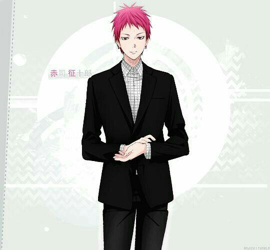 スーツでキメる赤司征十郎