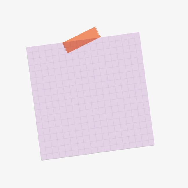 Vector Purple Lattice Notes Tape Doodle Frame Notes Good Notes