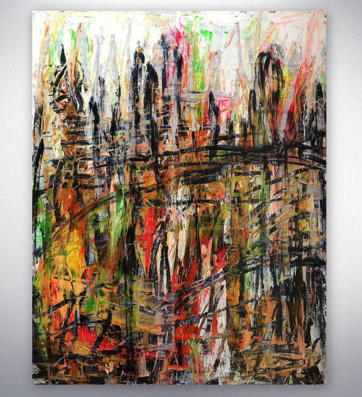 Abstrakte Malerei Bunt Abstrakt Originalbilder Leinwandbilder