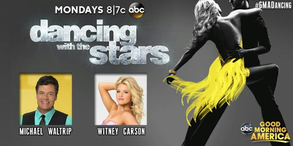 DWTS Season 19 Fall 2014 Michael Waltrip and Witney Carson