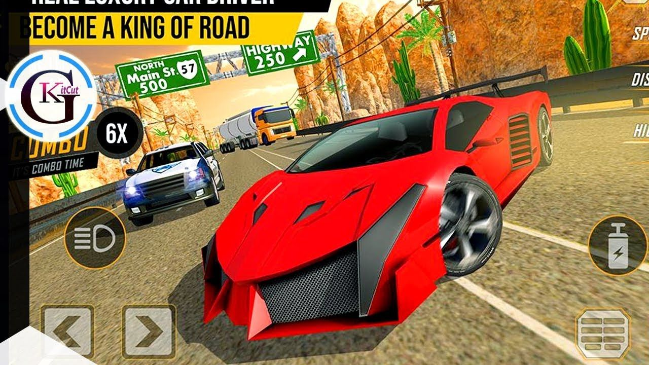Highway Racing In Traffic 2019 Car Race Crash In City