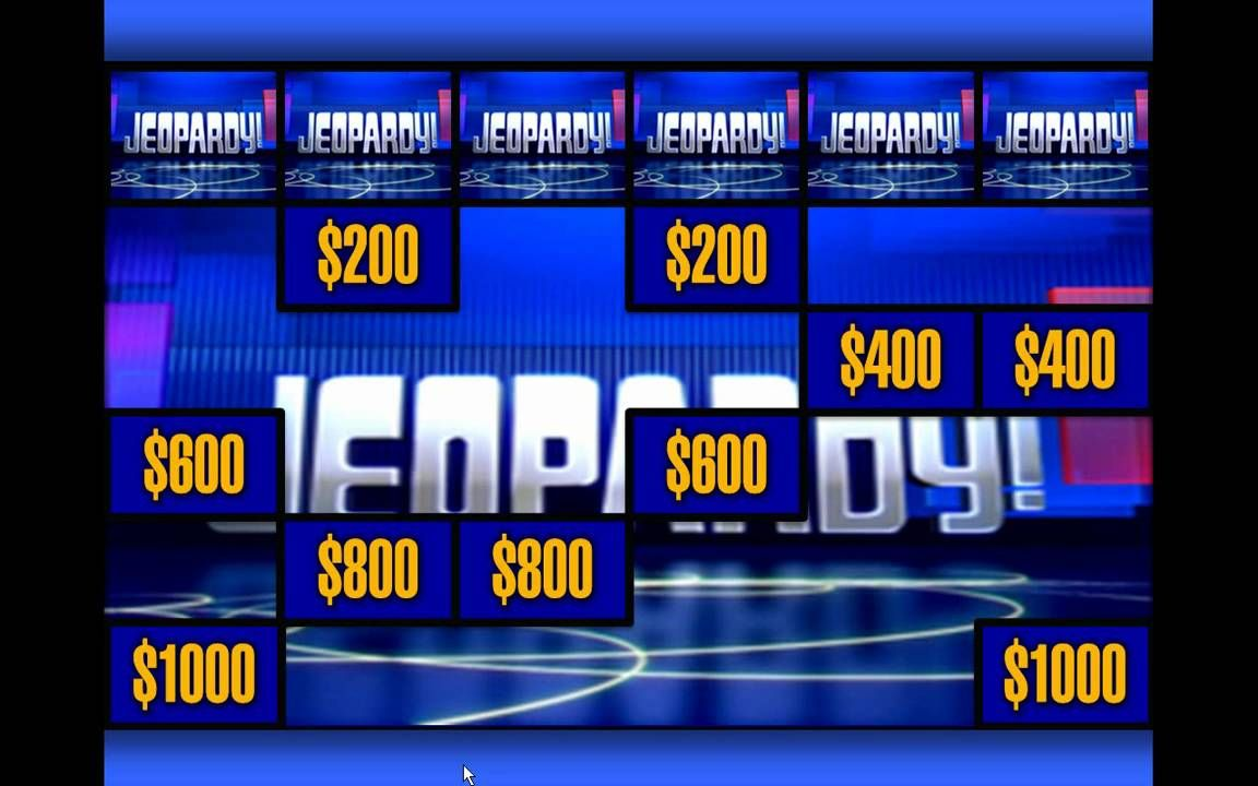 Jeopardy Template Ppt Sample In 2020 Jeopardy Powerpoint Template