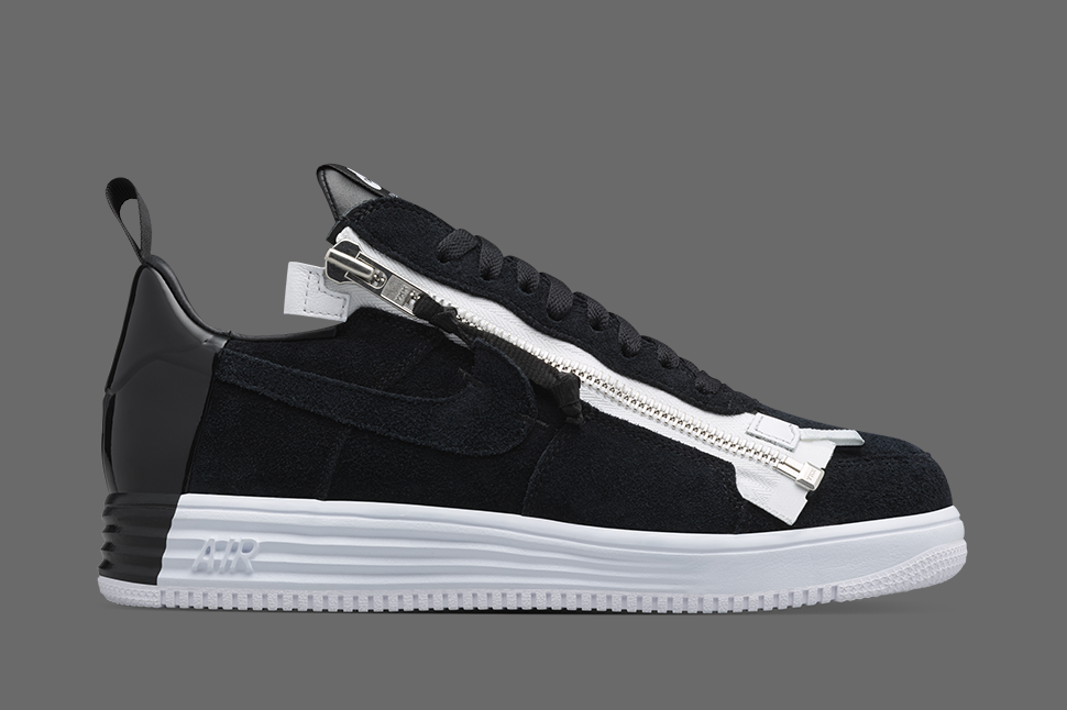 wholesale dealer 60a0c c8fbe Acronym Adds Zipper to Nike Lunar Force 1 - EU Kicks Sneaker Magazine