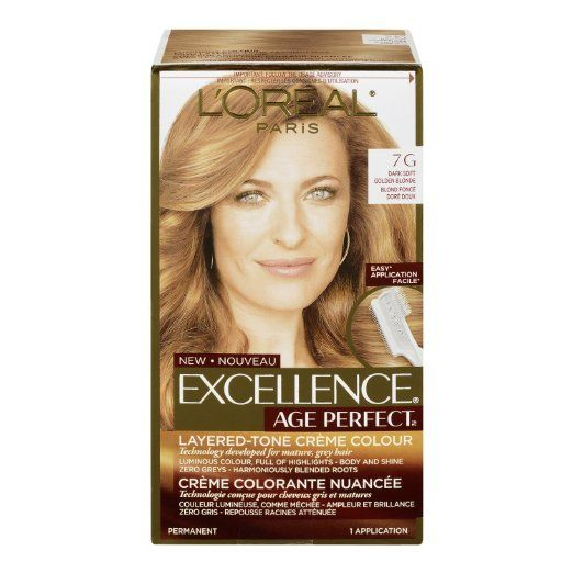 L Oreal Paris Hair Color Excellence Age Perfect Layered Tone