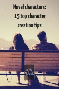 Novel characters - top tips