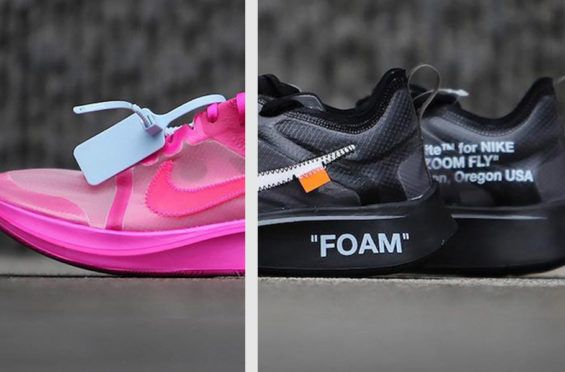 44b2fe0356f OFF-WHITE x Nike Zoom Fly SP Black   Pink Arriving In November The
