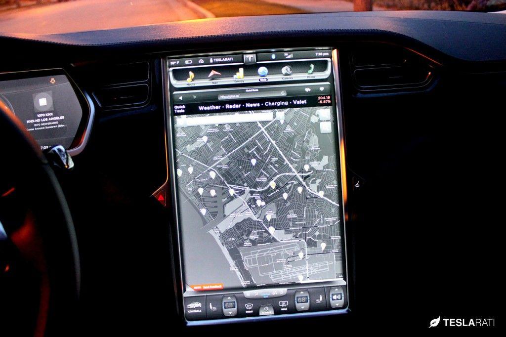 Quick Tesla Portal App For The Tesla Model S Web Browser Web Browser Tesla Model Tesla Model S