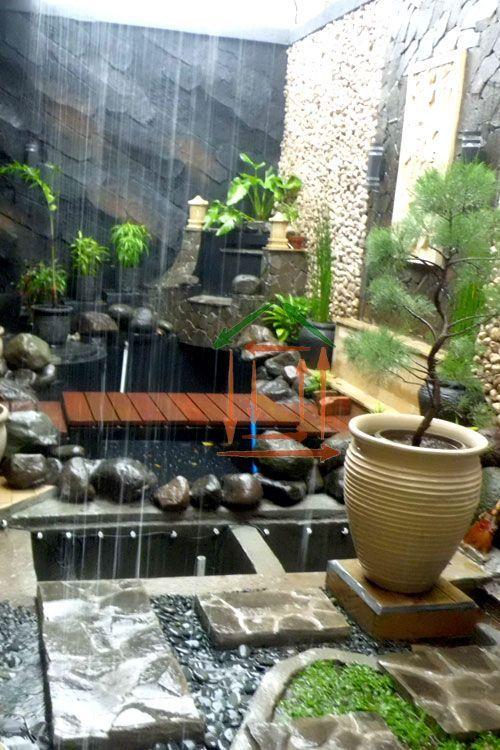 Mengagumkan taman minimalis d 39 firman desain rumah for Estanques japoneses jardin