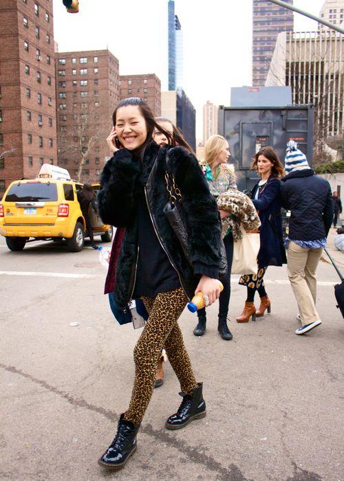 Liu Wen in New York