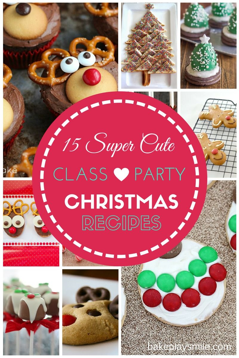 school christmas party food ideas