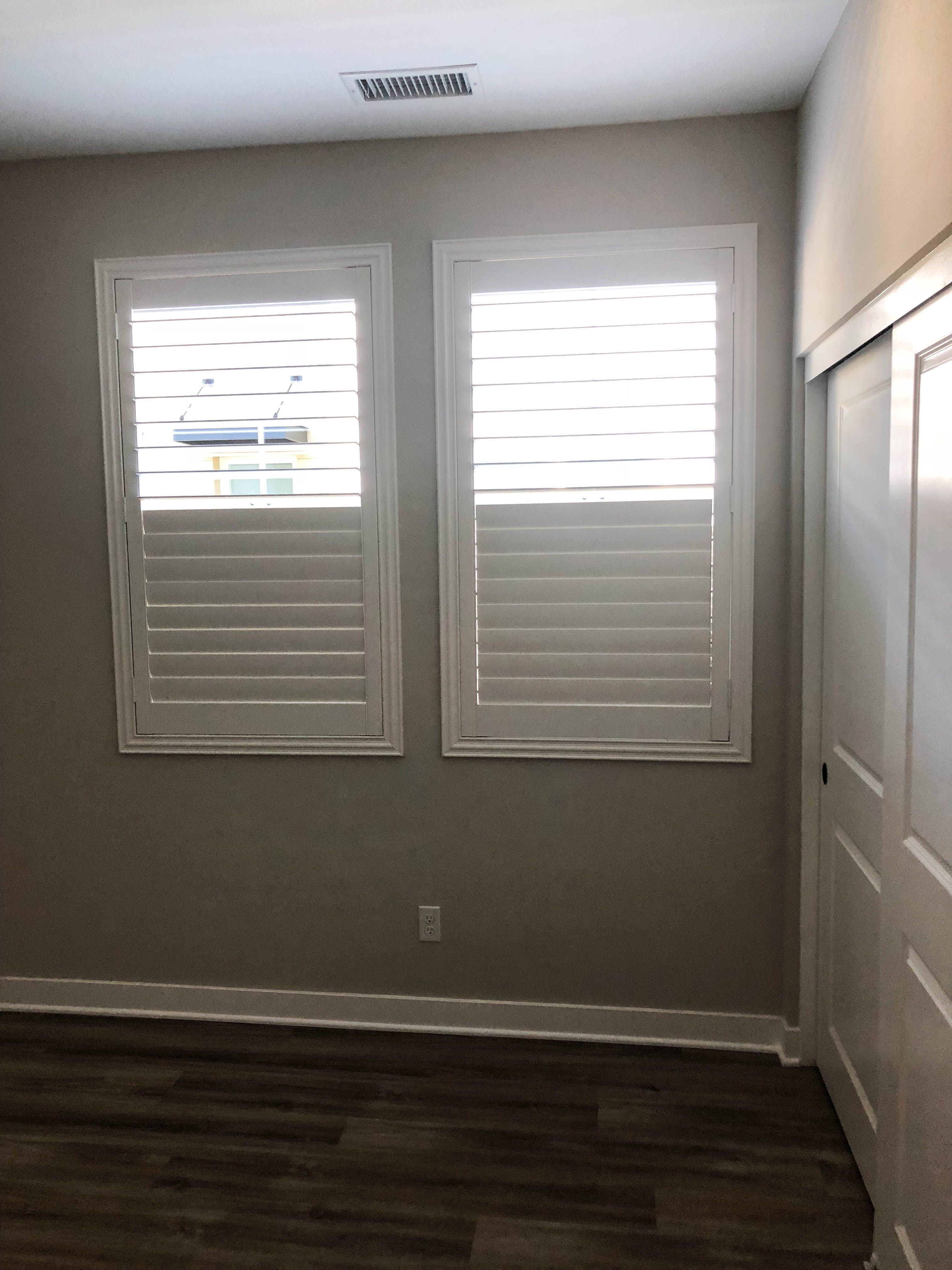 Clear View Plantation Shutters