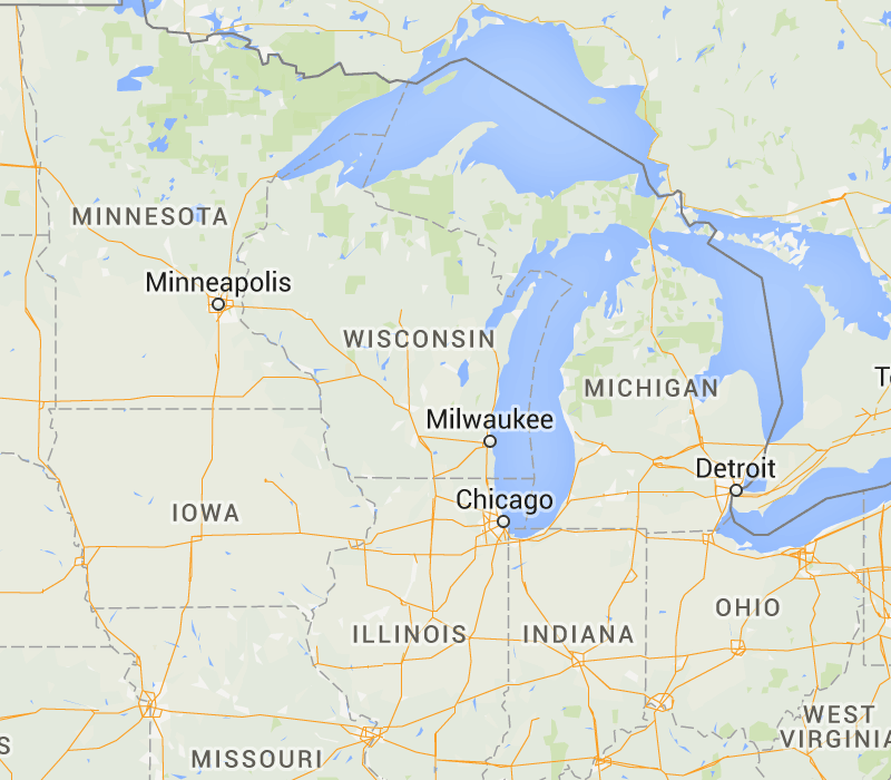 Wisconsin, United States Bed Bug Registry Map U2013 Bed Bug Infestation Reports  And Google Maps