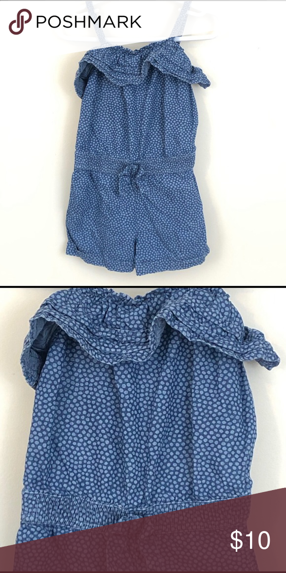 Toddler Dot Romper 2T Toddler romper in excellent condition - Size: 2T Fast Shipping! One Pieces   Toddler romper. Rompers. Clothes design