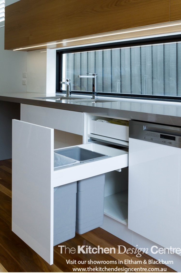 Accessible Kitchen Design A Modern Wheelchair Accessible Kitchen Featuring High Gloss Doors
