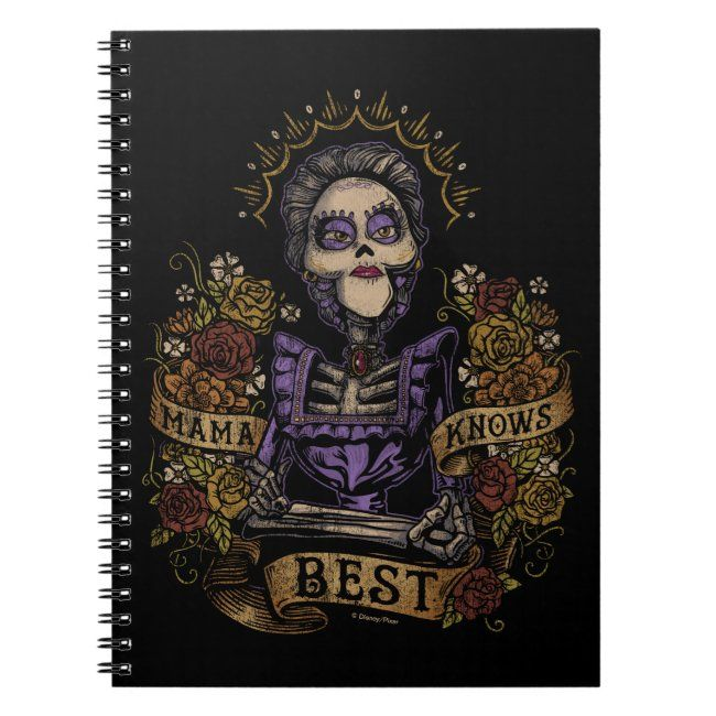 Disney Pixar Coco  Imelda  Mama Knows Best Notebook #affiliate , #sponsored, #Imelda, #Mama, #Notebook, #Coco, #Shop