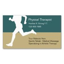 Physiotherapist Business Card Design Australia