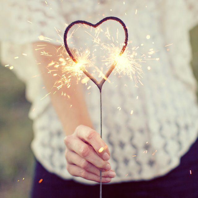 Heart Shaped Sparklers for the guest to hold as you make your exit from the ceremony.