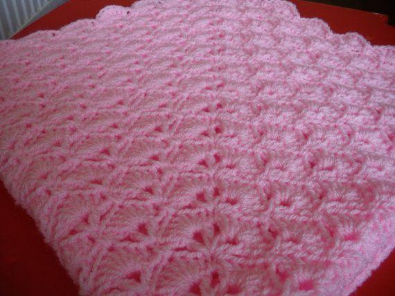 crochet niña abuela cuadrado manta listo para enviar | tejido bebe ...