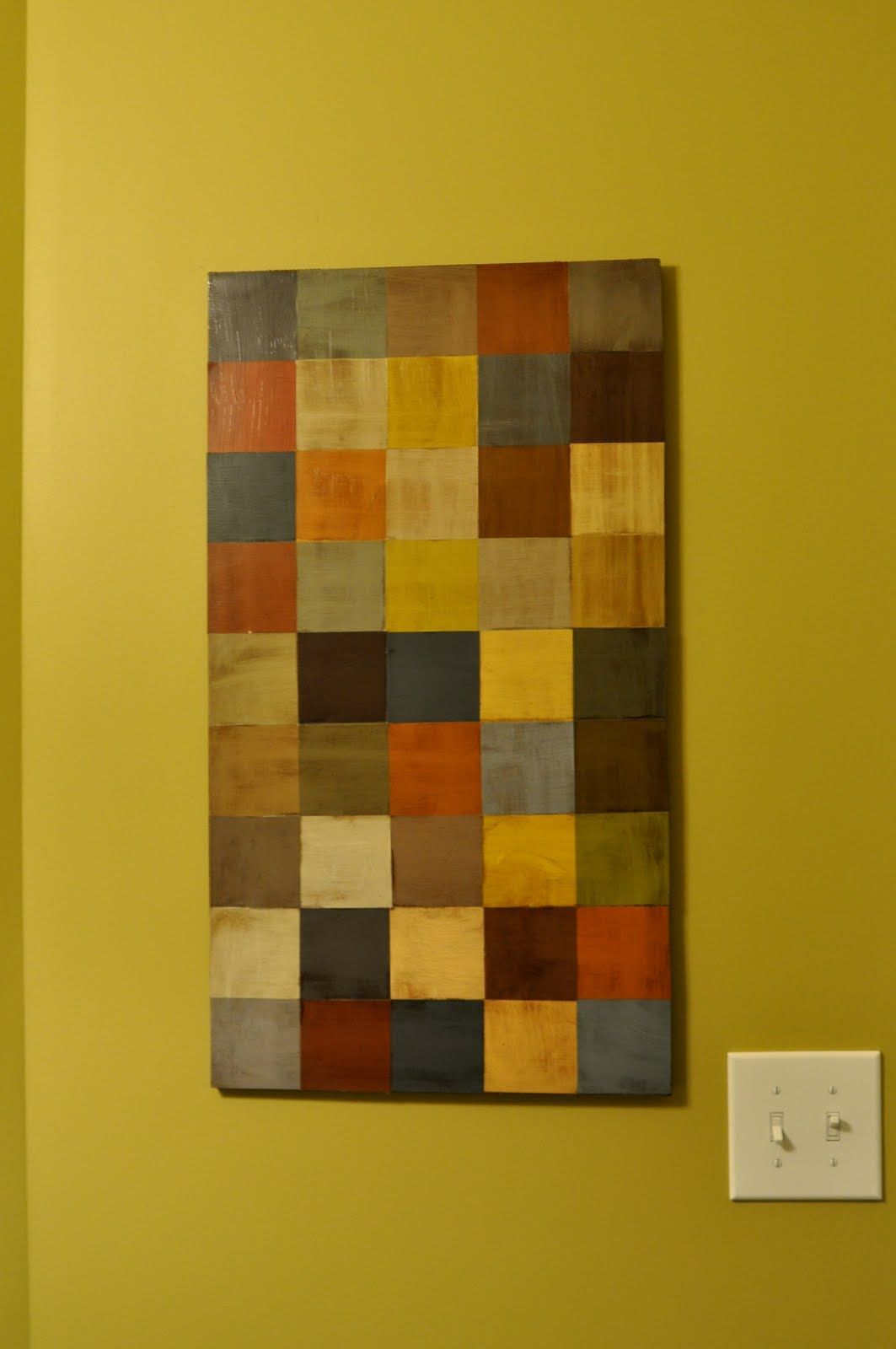My sister and I LOVE paint chips...this would be a great project to ...
