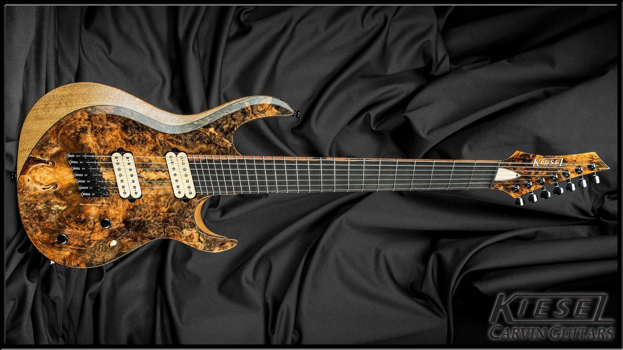 Kiesel Guitars Carvin Guitars Aries Multiscale Fanned Fret