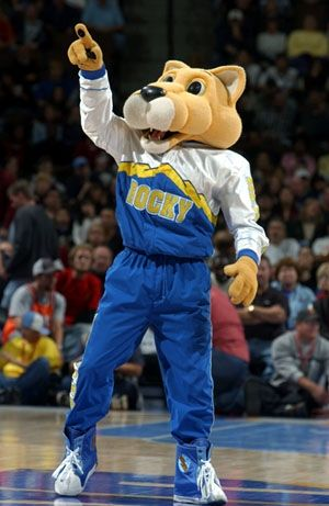 The Official Site of the   Animal Mascots   Denver nuggets