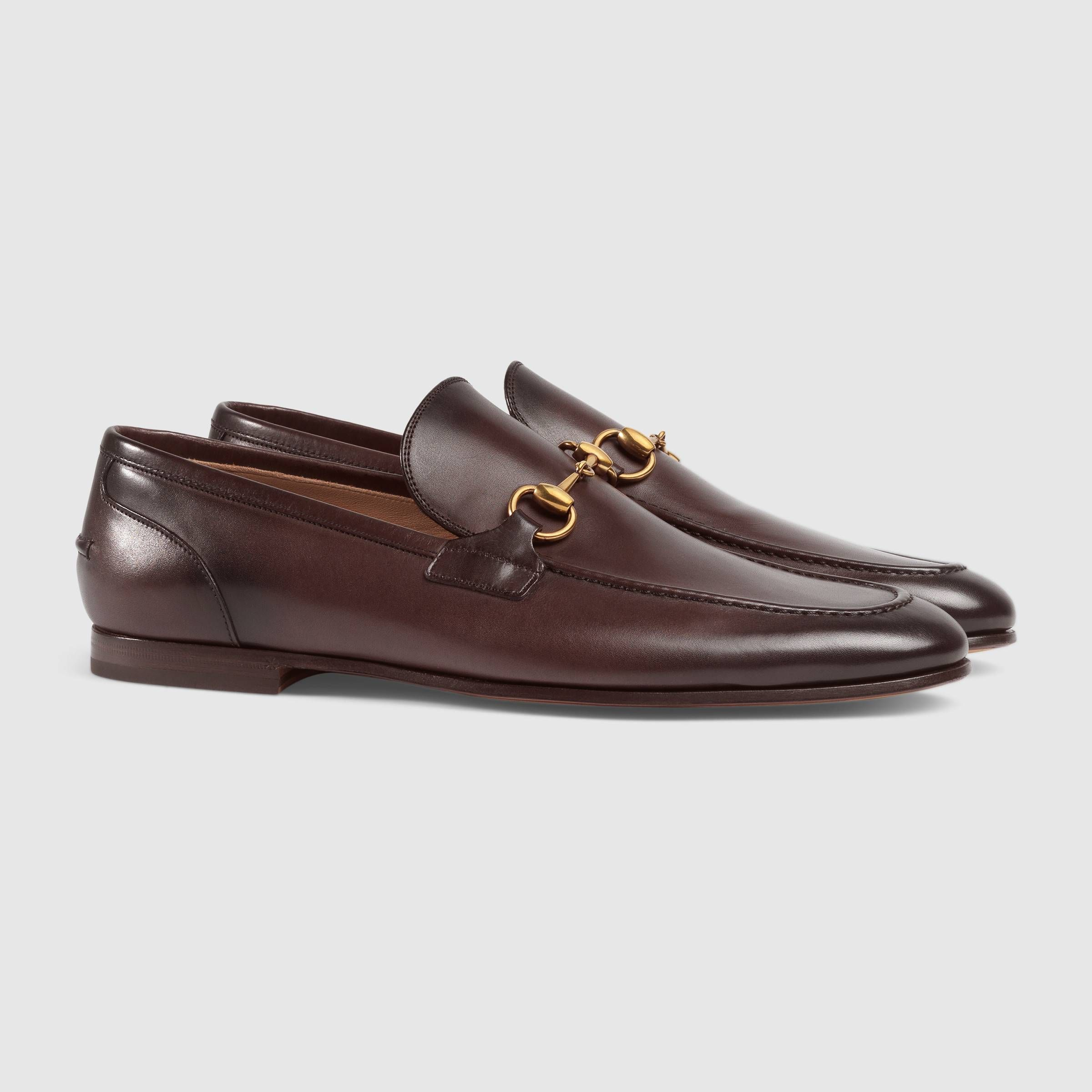 d720ce55b77 Gucci Jordaan leather loafer | Fits | Mens moccasins loafers, Shoes ...