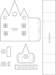 Over  Paper House Templates And Tutorials  Oh Yes A New