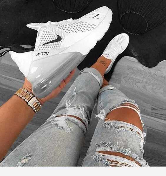 White Sneakers And Tattoo Nice Shoes Sneakers Fashion Outfit Shoes