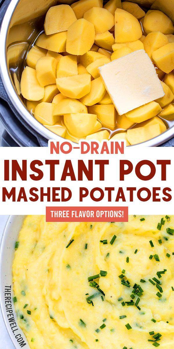 No-Drain Instant Pot Mashed Potatoes