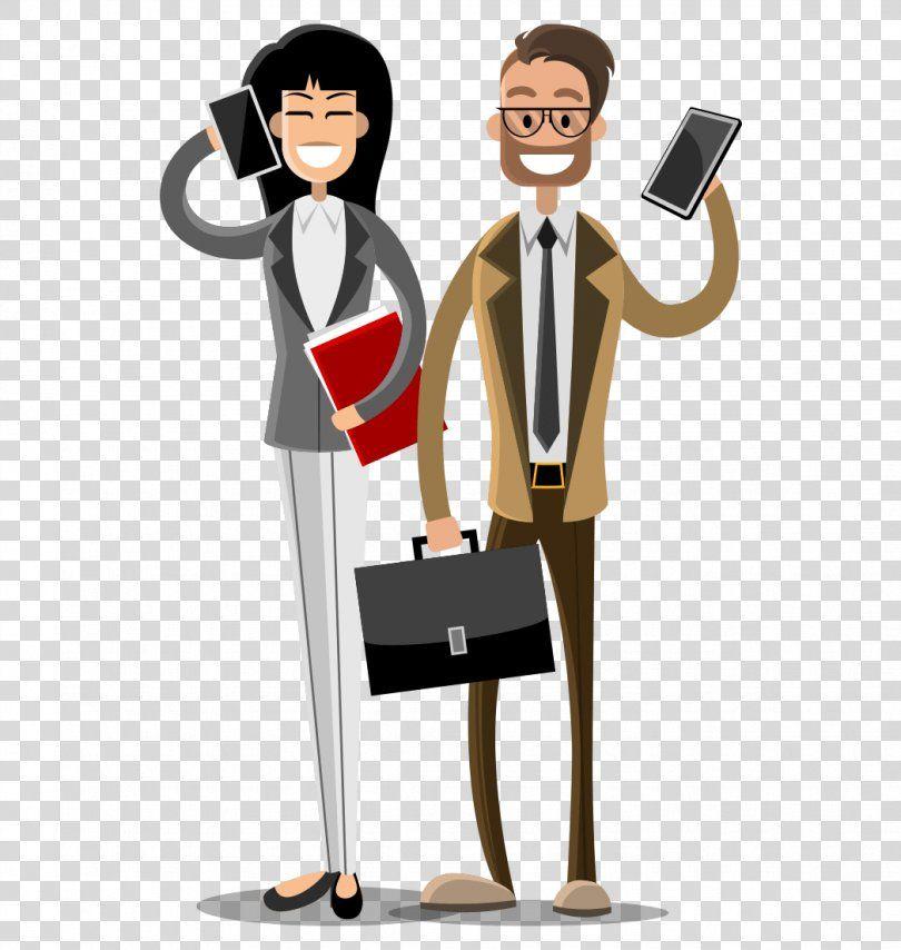 Business Sales Business People Png Business Businessperson Cartoon Communication Flat Design Business People Business Person People Png