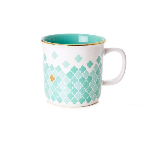 Moroccan Tile Rustic Mug