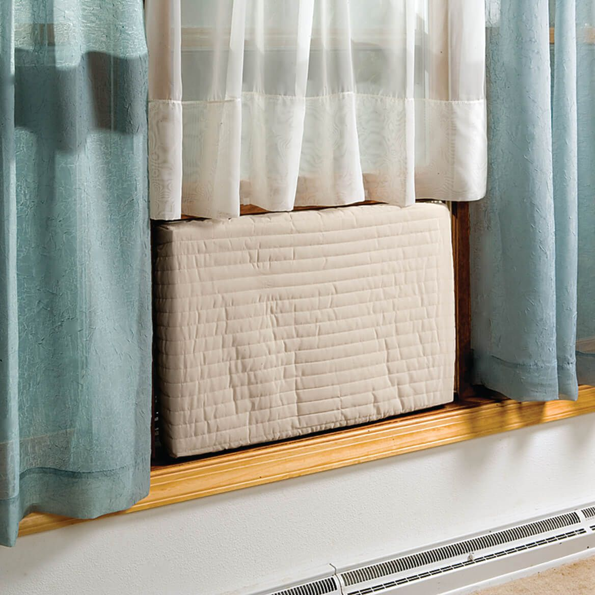 Air Conditioners Are An Energy Wasting Hole In The Wall Block It With The Indoor Air Conditioner Cover Air Conditioner Cover Indoor Air Conditioner Indoor Air