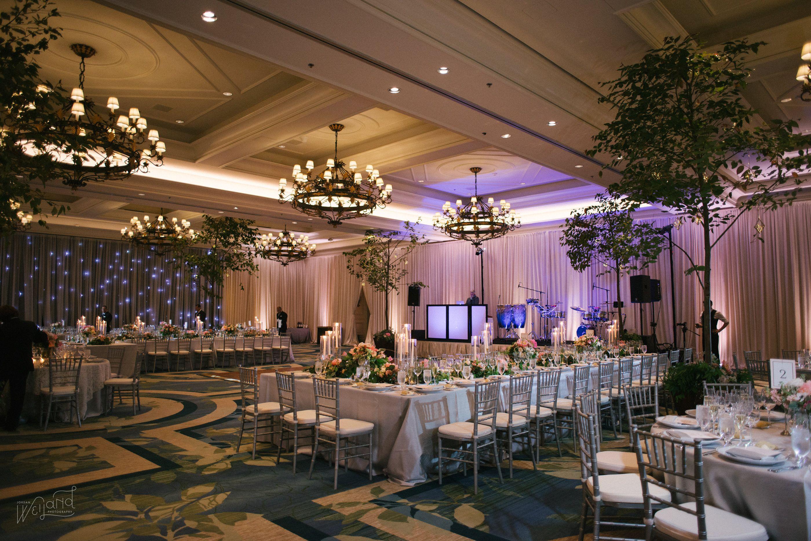 Ritz Carlton Orlando Wedding Lighting By Fyerfly