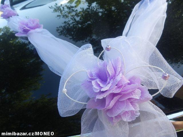 Svatebni Dekorace Vyzdoba Na Auto Serpa A Wedding